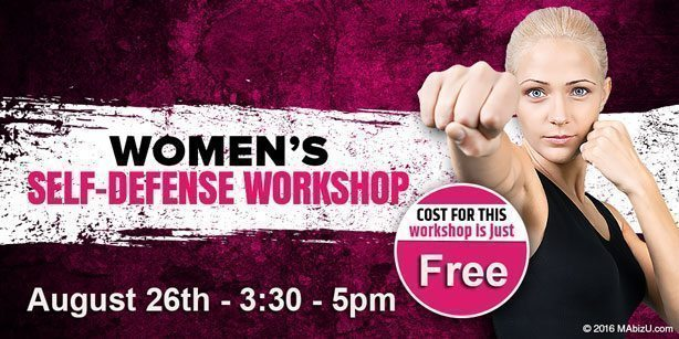 Open House Women's Self-Defence Workshop – August 26th 2017
